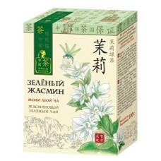Чай  ЗП  Зеленый Жасмин - крупнолист. 100г (карт/уп)