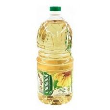 Масло  Слобода  Подсолнечное рафинированное - 2.7л (пласт/бут)