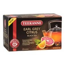 Чай  TEEKANNE  Эрл Грей - Цитрус [Earl Grey Citrus] - черный 20 пакетов (карт/уп)
