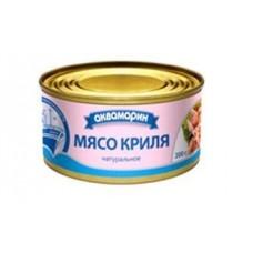 Консерва  Аквамарин  Мясо криля натуральное - 200г (ж/б ключ)