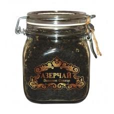 Чай  Азерчай  Черный Байховый Золотое Солнце /Апель/ Шиповник - 150г (ст/б)