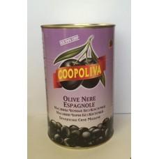 Маслины  Coopoliva  Без Косточки - 4.3кг (ж/б)
