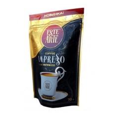 Кофе  ESTE ARTE  Impresso - растворимый (сублимир.) 70г (м/уп)