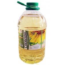 Масло  Слобода  Подсолнечное рафинированное - 3.0 л (пласт/бут)