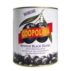 Маслины  Coopoliva  С Косточкой - 4.3кг (ж/б)