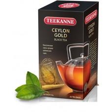 Чай  TEEKANNE  Цейлон Голд [Ceylon Gold] - черный 25 пакетов (карт/уп)