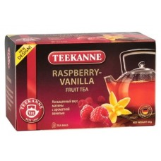 Чай  TEEKANNE  Малина - Ваниль [Rapsberry-Vanilla] - напиток 20 пакетов (карт/уп)