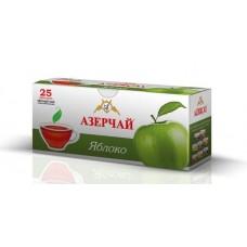 Чай  Азерчай  Черный Байховый Яблоко - 25 пакетов (карт/уп)
