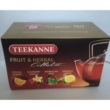 Чай  TEEKANNE  Фруктовое Ассорти [Fruit tea collection] -  20 пакетов (карт/уп)