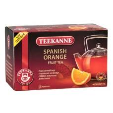 Чай  TEEKANNE  Испанский Апельсин [Spanish Orange] - напиток 20 пакетов  (карт/уп)