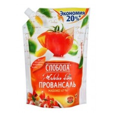 Майонез  Слобода  Майонез Провансаль Классич. (67%) - 800мл (дой/пак/с доз.)