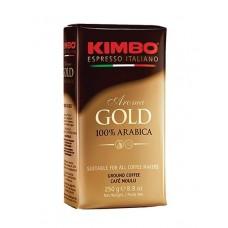 Кофе  Kimbo  Aroma Gold - молотый 250г (вак/уп)