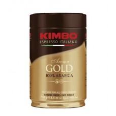 Кофе  Kimbo  Aroma Gold - молотый 250г (ж/б)