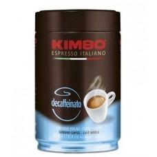 Кофе  Kimbo  Decaffeinato - молотый 250г (ж/б)