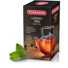 Чай  TEEKANNE  Легенда 1882 [Legend 1882] - черный 25 пакетов (карт/уп)