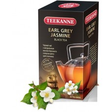 Чай  TEEKANNE  Эрл Грэй - Жасмин [Earl Grey Jasmine] - черный 25 пакетов (карт/уп)