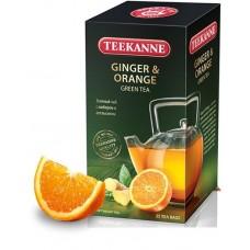 Чай  TEEKANNE  Имбирь - Апельсин [Ginger-Orange] - зеленый 25 пакетов (карт/уп)