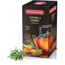 Чай  TEEKANNE  Тимьян - Мед [Thyme & Honey] - черный 25 пакетов (карт/уп)