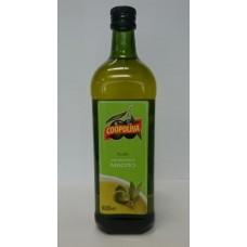 Масло  Coopoliva  Оливковое 100% Pure /рафинир./ - 1л (ст/бут)