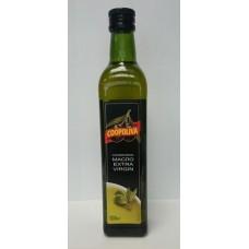 Масло  Coopoliva  Оливковое Extra Virgin /не рафинир./ - 0.5л (ст/бут)