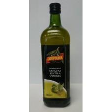 Масло  Coopoliva  Оливковое Extra Virgin /не рафинир./ - 1л (ст/бут)