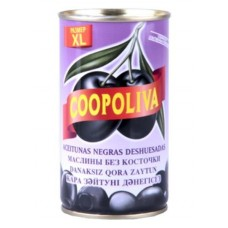 Маслины  Coopoliva  Без Косточки (размер XL) - 350г (ж/б)
