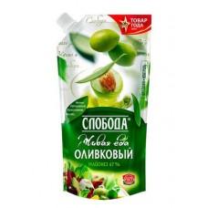 Майонез  Слобода  Майонез Оливковый (67%) - 400мл (дой/пак/с доз.)