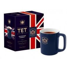 Чай  TET  Английский завтрак - 25 пакетов (набор с кружкой)