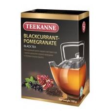 Чай  TEEKANNE  Черная Смородина - Гранат [Blackcurrant Pomegranate] - черный 100г (карт/уп)