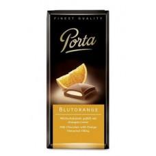 Шоколад  Porta  Молочный с начинкой Апельсин - 100г