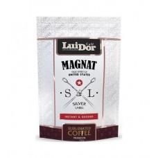 Кофе  LUIDOR  Magnat Silver Label - растворимый (сублимир.) 75г (м/уп)