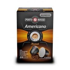 Кофе  Porto Rosso (МКП)  Americano (Мягкий) - молотый в капсулах 10*5г