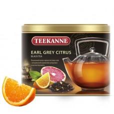 Чай  TEEKANNE  Эрл Грэй - Цитрус [Earl Grey Citrus] - черный 150г (ж/б)