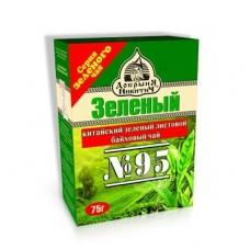 Чай  Добрыня  Зелёный № 95 - 75г (карт/уп)