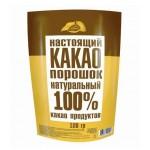 Какао  Добрыня  Какао-порошок натуральный - растворимый 100г (м/уп)