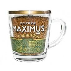 Кофе  Добрыня  Maximus Columbian (стекл. кружка) - растворимый (сублимир.) 70г