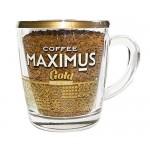 Кофе  Добрыня Maximus Gold (стекл. кружка) - растворимый (сублимир.) 70г