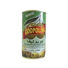 Оливки  Coopoliva  Без Косточки - 350г (ж/б)