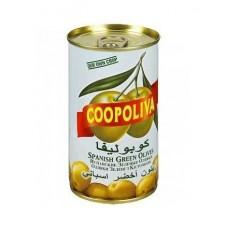Оливки  Coopoliva  С Косточкой - 350г (ж/б)