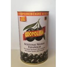 Маслины  Coopoliva  Королевские С Косточкой - 4.3кг (ж/б)