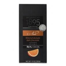 Шоколад  Weinrichs 1895  Горький с Апельсином - 100г