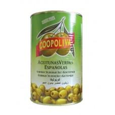 Оливки  Coopoliva  Без Косточки (280/320) - 4300г (ж/б)