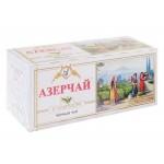 Чай  Азерчай  Чёрный Байховый с Чабрецом - 25 пакетов (карт/уп)