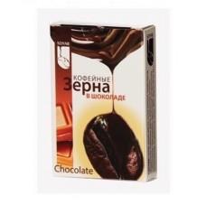 Драже  SOYAR  Кофейные зерна в шок. Chokolate - 12бл*20шт (карт/уп)