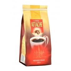 Кофе  Атташе  Венская обжарка (красный) - зерно 250г (м/уп)