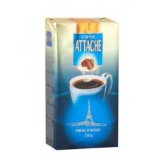 Кофе  Атташе  Французская обжарка (синий) - молотый 250г (м/уп)