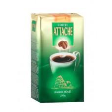 Кофе  Атташе  Итальянская обжарка (зеленый) - молотый 250г (м/уп)