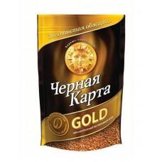 Кофе  Черная Карта  Голд - растворимый 75г (м/уп)