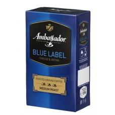Кофе  Амбассадор  Blue Label - молотый 250г (вак/уп)