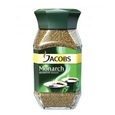 Кофе  Якобс  Монарх - растворимый 47,5г (ст/б)